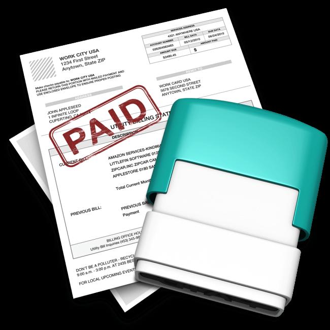 Получение, проверка и оплата счетов портов