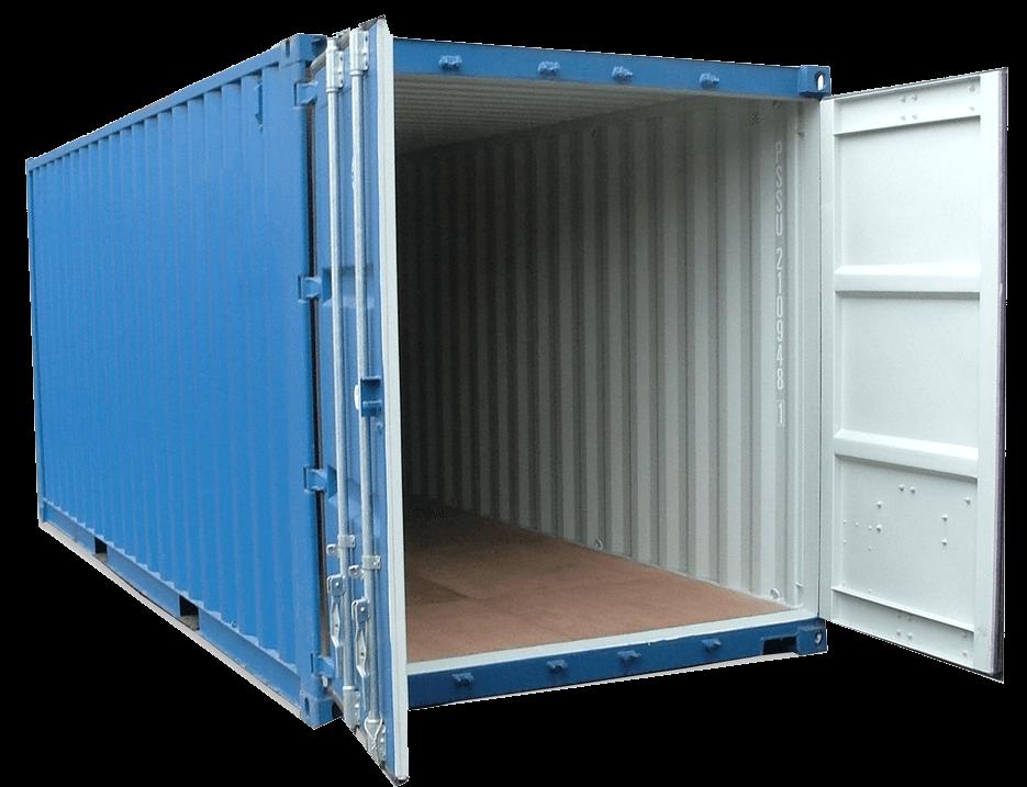 Прокат порожних контейнеров под склад на территории терминала